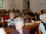 Setkání s jubilanty ve společenském sále MČ Brno-střed