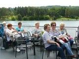 Posezení na přehradě s hosty ze Slovenska